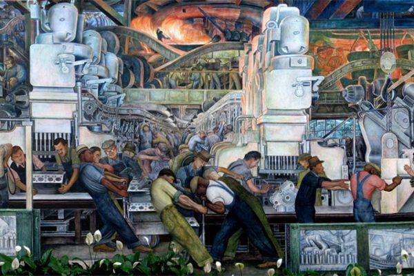 Diego Rivera, L'homme et la machine