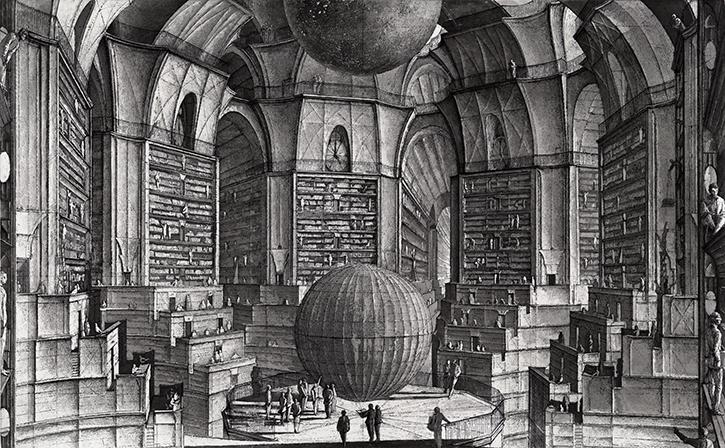La Bibliothèque de Babel, de Jorge Luis Borges
